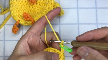 绒尚手工-端午儿童蛋袋主体编织教程新款花样