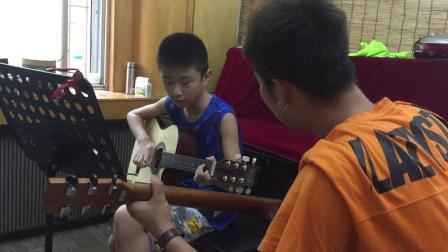 吉他弹唱练习