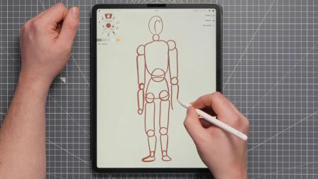 概念画板学习画图Part 2:比例和参考