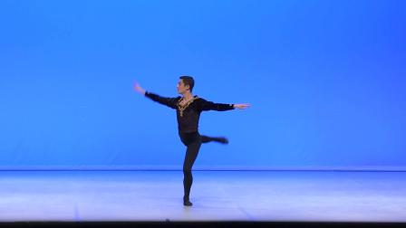 芭蕾舞《黑天鹅齐格弗里德 天鹅湖》Diogo Betencourt 预赛男子A组 2020