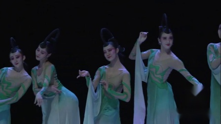 古典舞宣传片《墨粉》北京舞蹈学院