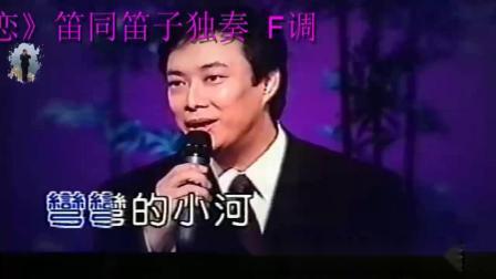 F调-小村之恋-笛子独奏-笛同