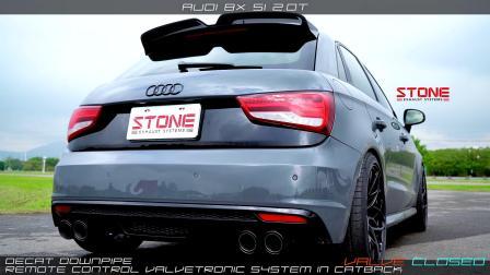 Audi 8X S1 2.0t Stone Decat DP+Catback