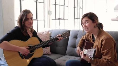 两位小姐姐吉他演绎经典乡村歌曲Islands in the Stream