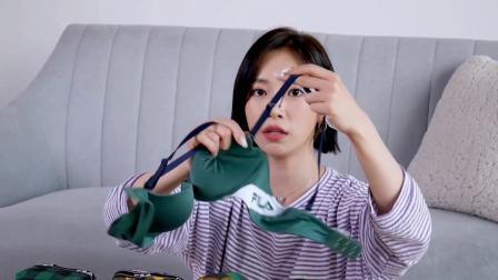 【素丽Sori】小姐姐试穿各种样式的泳衣P2运动内衣篇