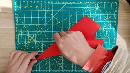 风水轮流转,万事有轮回窗花,侗家妹手工剪纸,儿童剪纸好看易学