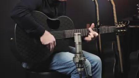 Dave Cleveland试弹McPherson碳纤维系列Sable款吉他