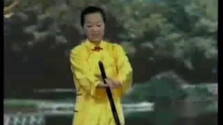 吴阿敏36式太极杖教学_标清-_标清
