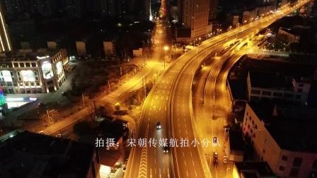 武汉封城第21天-洪山区雄楚大道高架航拍-DEMO