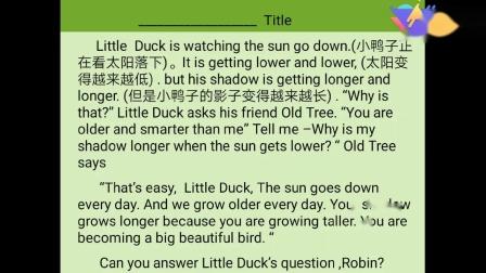 【阜阳美雅特小学】六年级下册英语unit1Read and write 2.17
