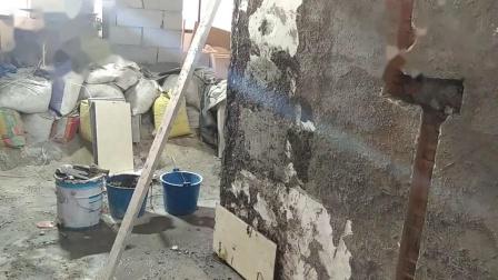 贴墙砖南北方向100%垂直教程