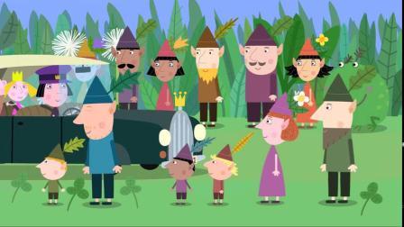 班班和莉莉的小王国第一季 第8集 国王忙碌的一天