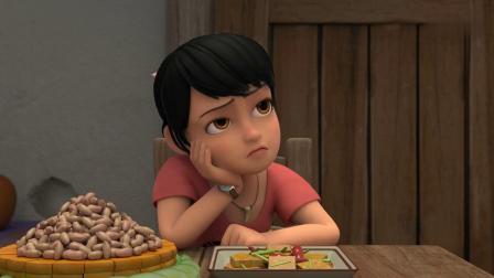 熊出没赵琳心直口快,刚上饭桌就说出目的,她要上山去玩