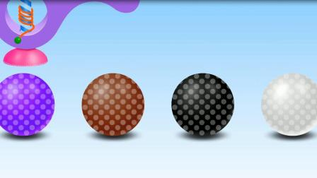 旋转球球玩具游戏 认识数字 认识颜色 益智英语动画玩具