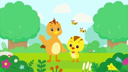 """萌鸡小队趣自然为什么""""虫宝宝""""会变成蝴蝶?"""