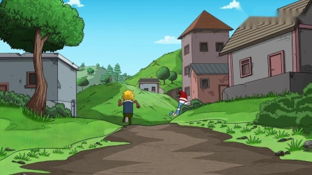 霸哥想出馊主意对付四胞胎,没想到被四胞胎看穿,一发RPG解决!