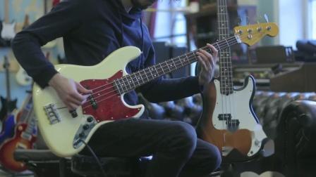 fender jazz bass VS Precision Bass 音色