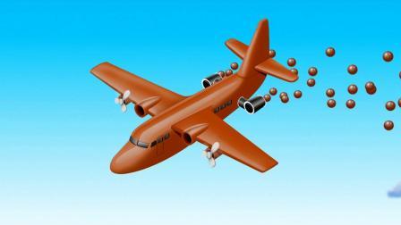 飞机播豆豆游戏 认识颜色 学习英语 婴幼儿早教益智动画玩具