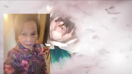 雪冰青春活力广场舞《雪冰眼睛手术前后照片的纪念》