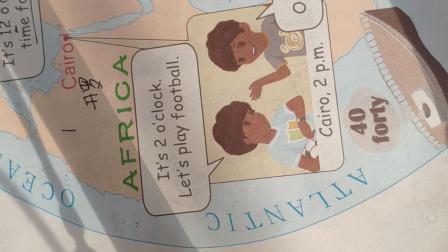 人教版四年级下册英语第二单元p12-13页