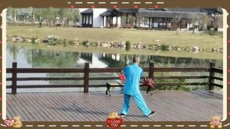 宁国市弘睿太极队程师傅演练42式太极剑  04:55