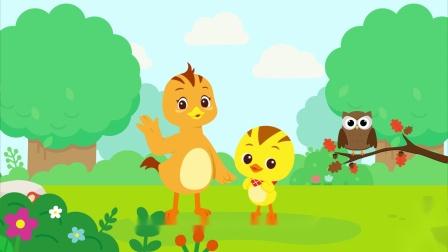 """萌鸡小队趣自然为什么猫头鹰被叫做""""森林守护者""""?"""