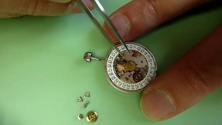 百年灵计时码表  第1部分 机芯 ETA2892-A2 手表维修系列