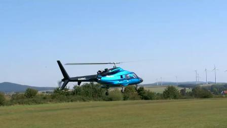 超大20公斤贝尔-222直升机空中表演