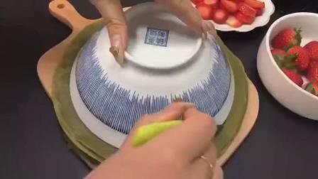 抹茶千层蛋糕做法 女生的最爱 热量超低超满足