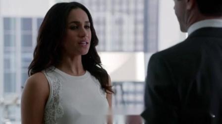 【金装律师】【梅根王妃】瑞秋和上司坦白:曾和Logan交往过