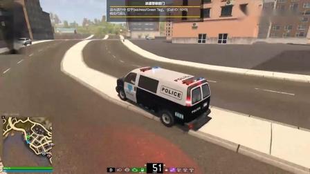 模拟警察:帮派分子路边火拼,开上五菱荣光警车,紧急出警!