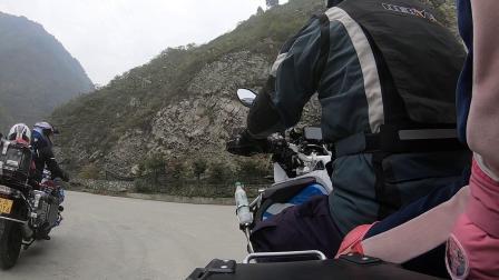2019带闺女骑车去巴朗山