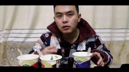 小米也开始卖方便面了?三款口味试吃,番茄鸡蛋冻干面最好吃