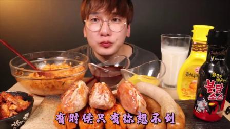 日本妹子真是能吃,做吃播挑战巨型薄饼,一口气全吃完,太厉害了