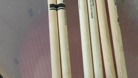 美产达达里奥 橡木鼓棒、枫木鼓棒、汉牌胡桃木鼓棒比较(3)