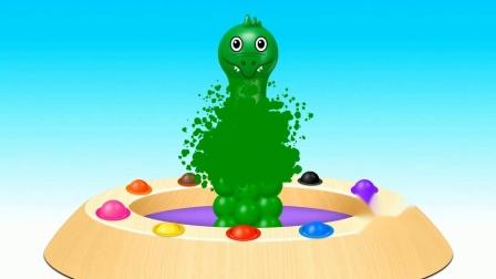动物玩具机游戏 认识颜色 学习英语 婴幼儿早教