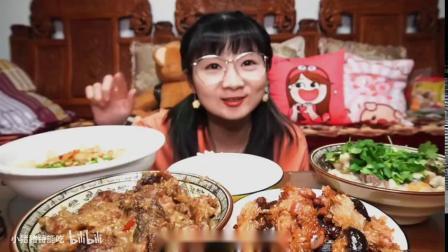 小猪猪宅家自制西安biangbiang面、仿制甑糕和小酥肉!还有失败的羊肉泡馍