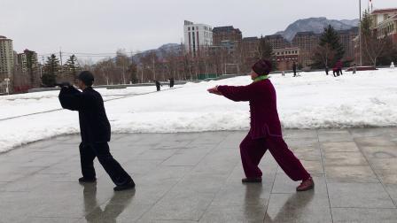 杨式太极拳八十五式