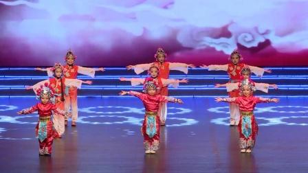 2020中国教育电视台《绽放的向阳花》全国少儿春晚上海站广西代表队(小花旦)