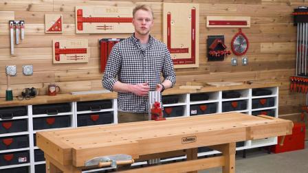 桌钳支持- Woodpeckers Woodworking Tool