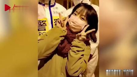 女生转院到火神山照顾重症外婆一切都会好起来的 近日 湖北武汉