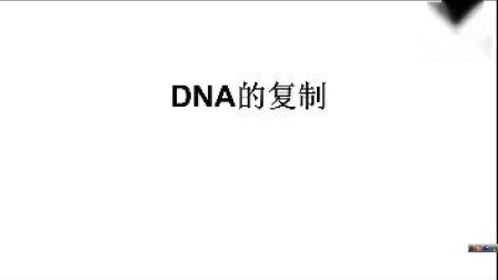 人教版高中生物(必修二)——第三章 第三节 DNA的复制