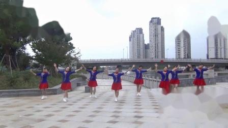 苏州云庭广场舞《就爱广场舞》编舞:小帅