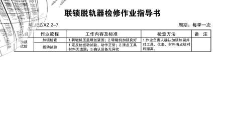 普速铁路信号设备维修作业指导书(沈大线)