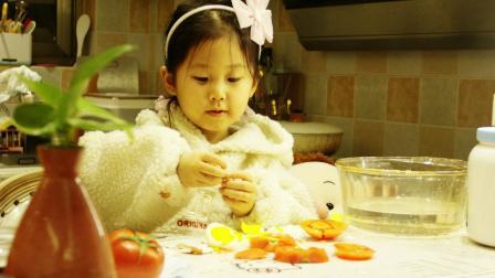 Julia 小可爱萌萌 健康营养美食集锦 芝士鸡蛋番茄三明治
