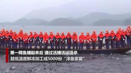 千岛湖新春第一网鱼半价义卖 购置医疗物资捐赠一线