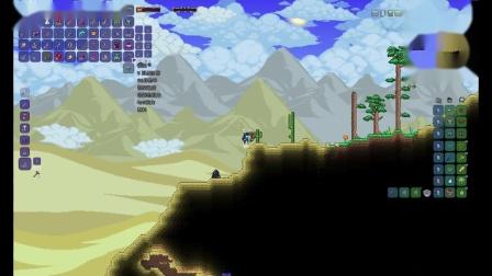王鹰在荒漠中翱翔,与探险者搏斗【泰拉瑞亚】【专家复仇单人 瑟银 灾厄 模组开荒】Boss#1