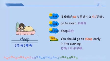 鲁科版五年级英语下册第三单元第三课单词词汇讲解微课视频