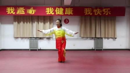 抗疫情,居家科学健身。石家庄市健身气功协会副会长兼秘书长徐素平;带领大家一起学练健身气功八段锦。