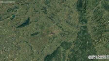 地图里看区域发展,湖南省双峰县城市化进程